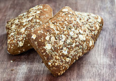 Homemade whole grain bread Royalty Free Stock Photo