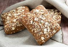 Homemade whole grain bread Stock Images