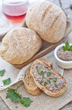 Homemade whole wheat bread Stock Image