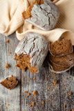 Homemade whole wheat bread, healthy eating Stock Photo