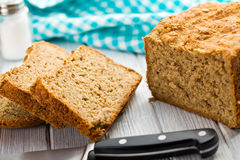 Homemade whole wheat bread Royalty Free Stock Image
