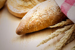 Homemade Whole wheat and grains bread Royalty Free Stock Photography