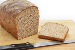 Homemade wholemeal loaf Royalty Free Stock Photography