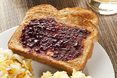 Homemade Wholesome American Breakfast Royalty Free Stock Photography