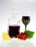 Homemade wine Stock Image