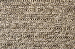 Homemade wool stitch Stock Images