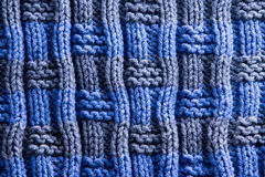 Homemade Woven Crochet with Vertical Ridge Lines Stock Image