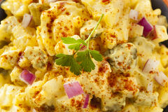Homemade Yellow Potato Salad Royalty Free Stock Image