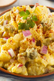 Homemade Yellow Potato Salad Royalty Free Stock Photo