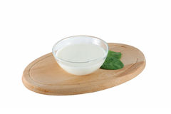 Homemade yogurt Stock Images