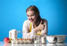 Homemaker kciuki Obraz Royalty Free