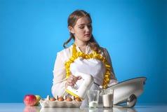 Homemaker z melanżerem Zdjęcie Royalty Free