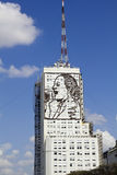 Homenagem a Evita Peron Fotografia de Stock Royalty Free