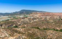从Homenaje塔阿莱多城堡的看法 库存图片