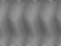 Homenaje del arte de Op. Sys. a las rayas cuadradas blancos y negros del BR Imagenes de archivo