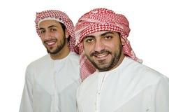 Homens árabes fotografia de stock
