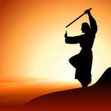 Homens com espada Fotografia de Stock Royalty Free