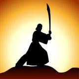 Homens com espada Fotos de Stock