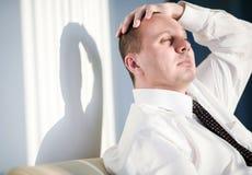 Homens com penteado curto Fotografia de Stock