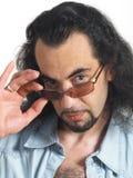 Homens com vidros Imagens de Stock Royalty Free