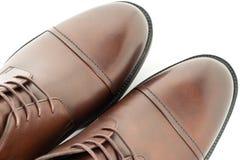 Homens das botas no fundo branco foto de stock royalty free