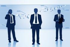 Homens de negócio ilustração do vetor