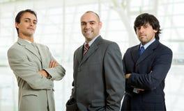 Homens de negócio fotografia de stock royalty free