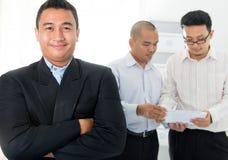 Homens de negócio asiáticos do sudeste Foto de Stock Royalty Free