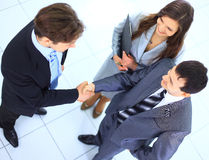 Homens de negócio bem sucedidos Fotografia de Stock