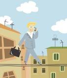 Homens de negócio da cidade Ilustração Stock