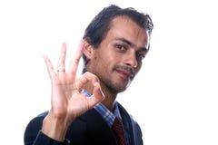 Homens de negócio novos Imagem de Stock