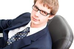 Homens de negócio novos consideráveis Imagem de Stock
