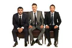 Homens de negócio surpreendidos Imagens de Stock