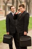 Homens de negócios Fotografia de Stock