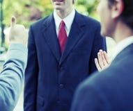 Homens de negócios fotografia de stock royalty free