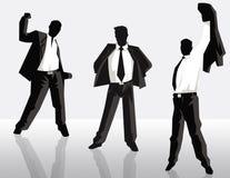 Homens de negócios ilustração do vetor