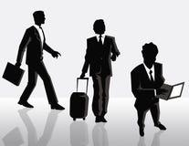 Homens de negócios ilustração royalty free