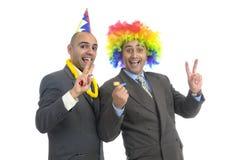 Homens de negócios Imagens de Stock Royalty Free