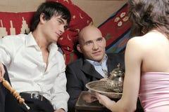 Homens de negócios - após o trabalho Fotografia de Stock Royalty Free