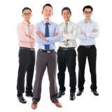 Homens de negócios asiáticos Foto de Stock Royalty Free