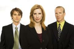 Homens de negócios com orgulho Fotos de Stock Royalty Free