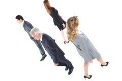 Homens de negócios e mulheres de negócios imagem de stock