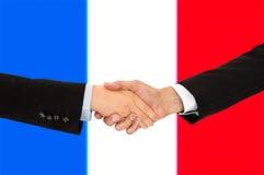 Homens de negócios em França Fotografia de Stock Royalty Free