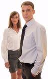 Homens de negócios novos Foto de Stock Royalty Free