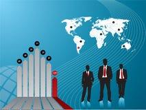 Homens de negócios que fazem investimentos Imagens de Stock Royalty Free