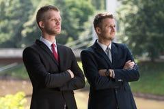 Homens de negócio bem sucedidos Imagem de Stock