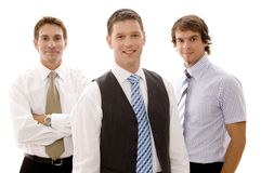 Homens de negócios Imagem de Stock Royalty Free