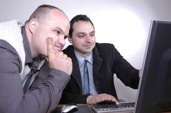 Homens de negócios III Imagens de Stock Royalty Free