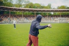 Homens do esporte fotografia de stock