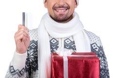 Homens do Natal Imagens de Stock